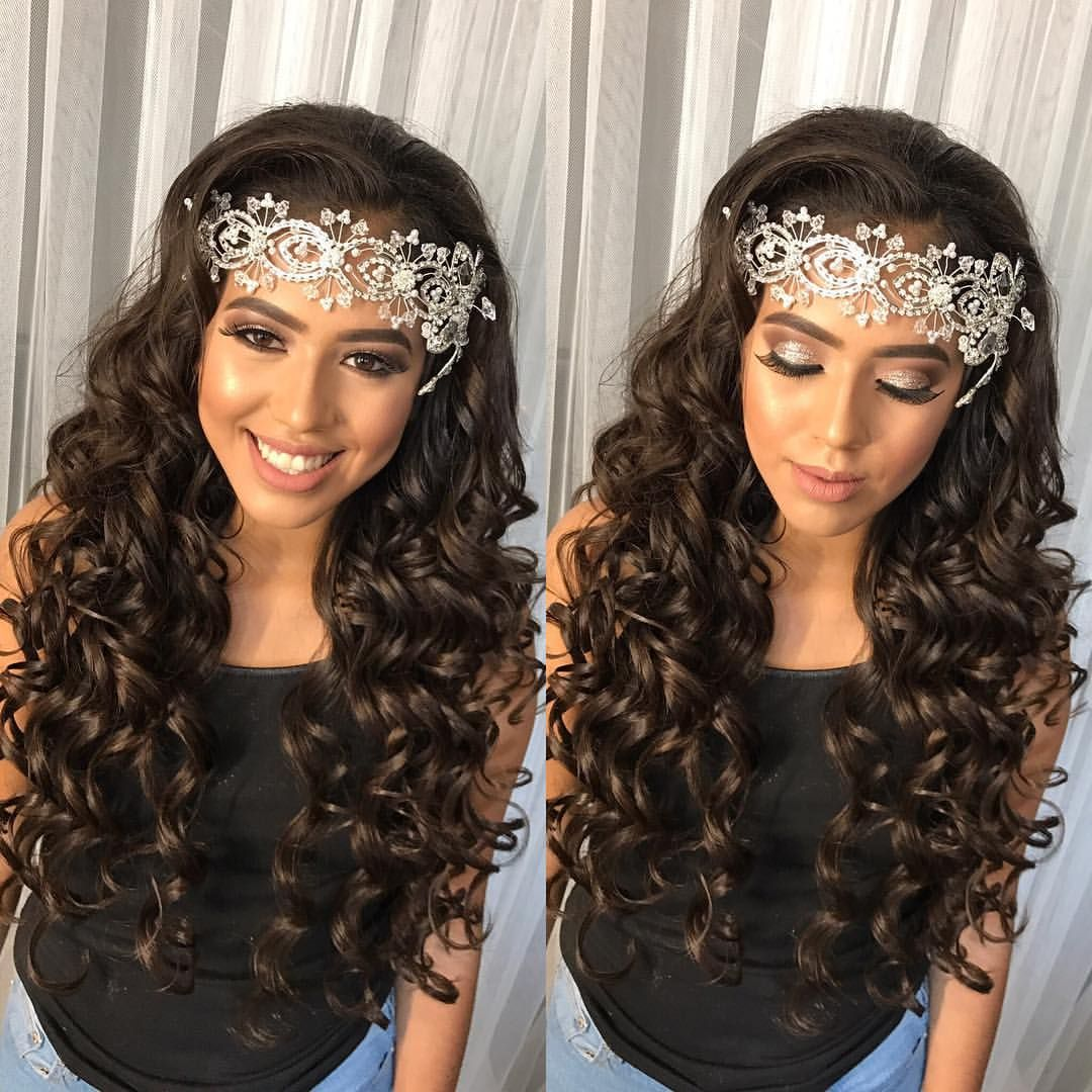 Quinceanera Hairstyles See This Instagram Photoglambychristopher  3001 Likes  Curls