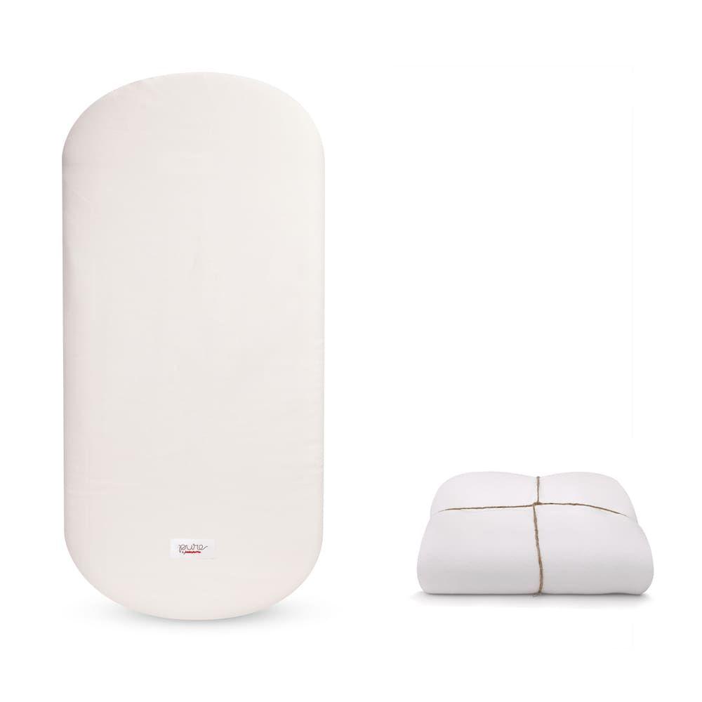 Babyletto Coco Core Oval Crib Mattress With Smart Cover Oval Crib Crib Mattress Cribs
