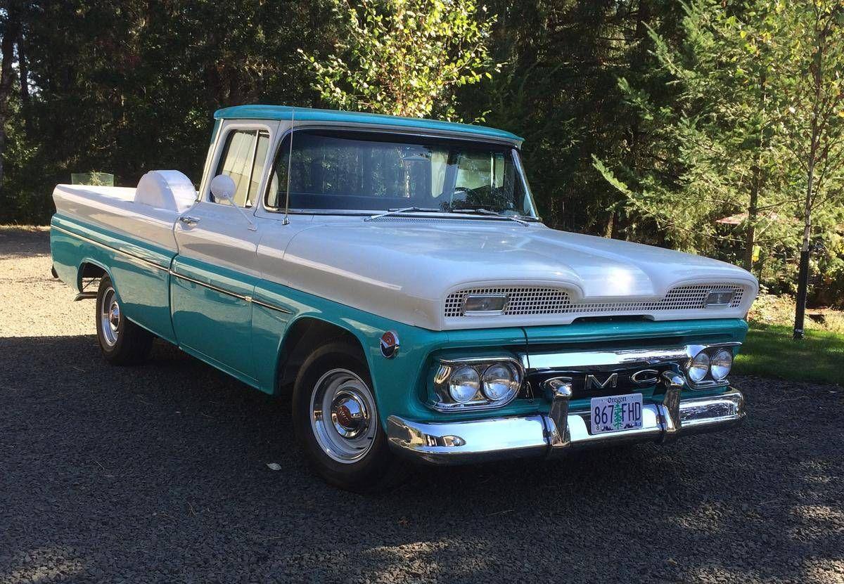 1960 Gmc Deluxe Fleetside 2wd Classic Trucks Gmc Trucks