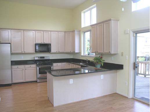 Pickled Oak Cabinets. Counter Color?!? Considering Quartz U0026 Granite  (flooring,
