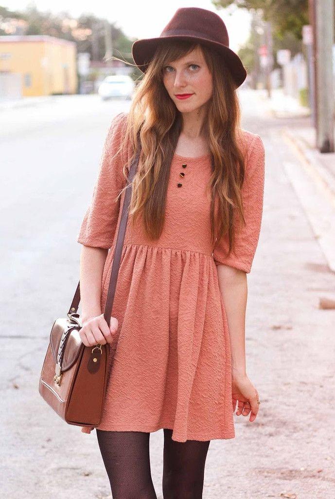 Follow My Heart Dress >Honey Peach | vestiditos <3 | Pinterest ...