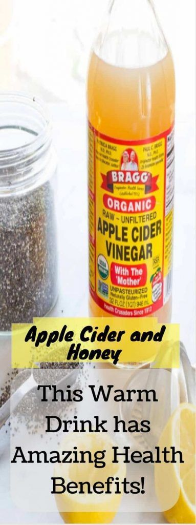 APPLE CIDER VINEGAR AND RAW HONEY: THIS WARM DRINK HAS AMAZING HEALTH BENEFITS   #applecider #honey #healthbenefits #applecidervinegarbenefits
