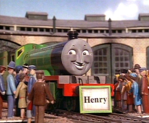 Henry With His Name Board Shining Time Station Pinterest