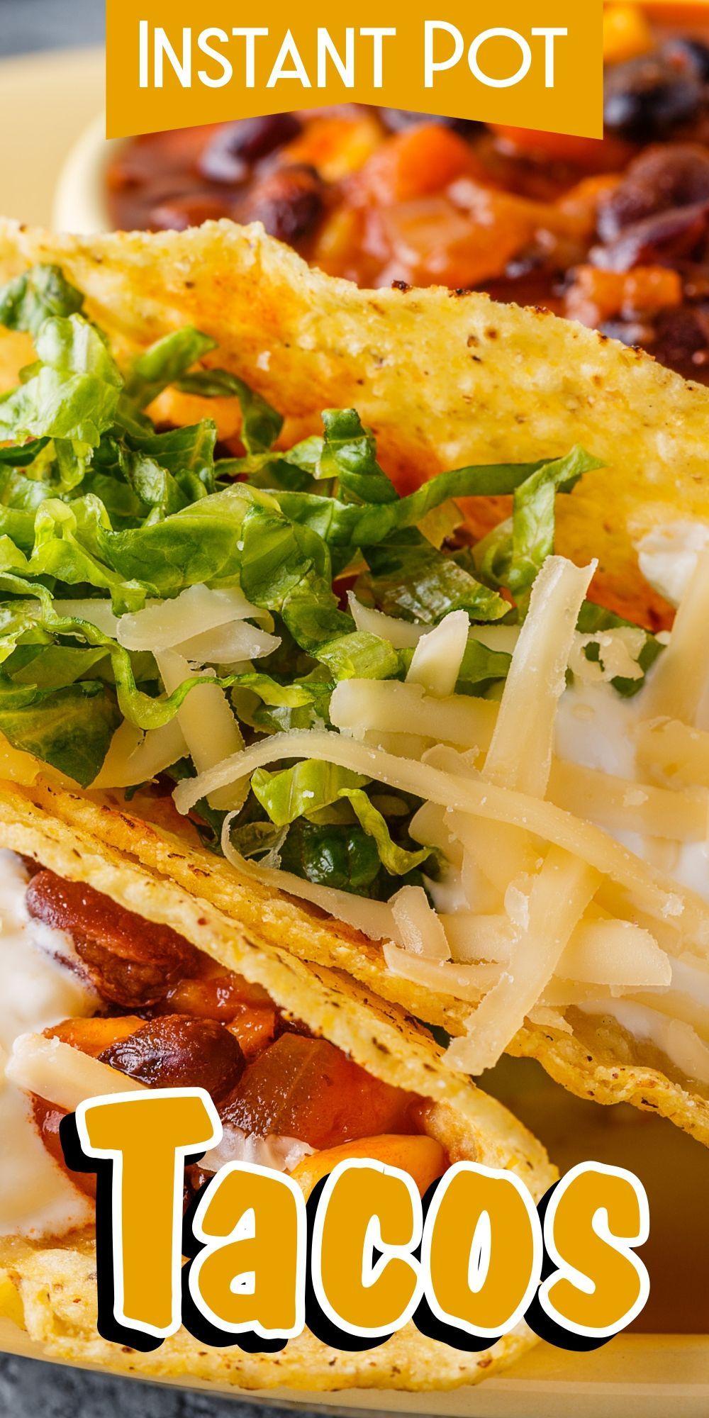 Instant Pot Vegetarian Tacos