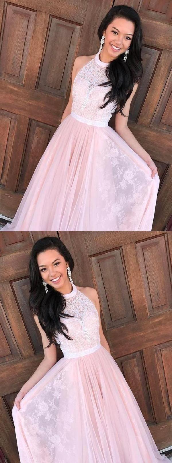 Customized vogue lace prom dresses aline prom dresses prom