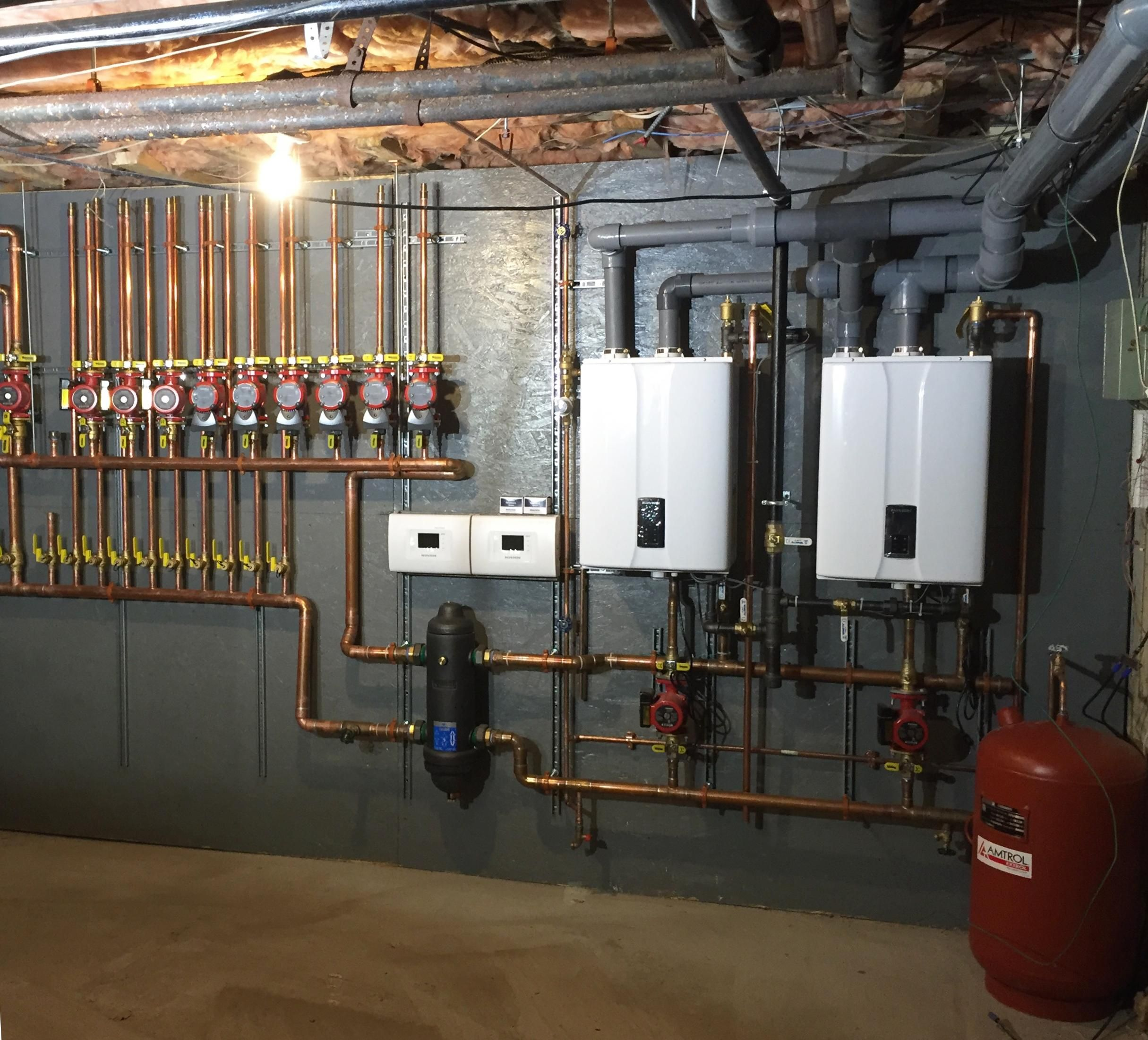 New Bedford Ma Caleffi Excellence House Heating Hydronic Radiant Floor Heating Mechanical Room