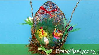 Diy Kwiaty Kanzashi W Doniczce Na Szybko 304 Youtube Easter Eggs Diy Easter Egg Crafts Egg Crafts