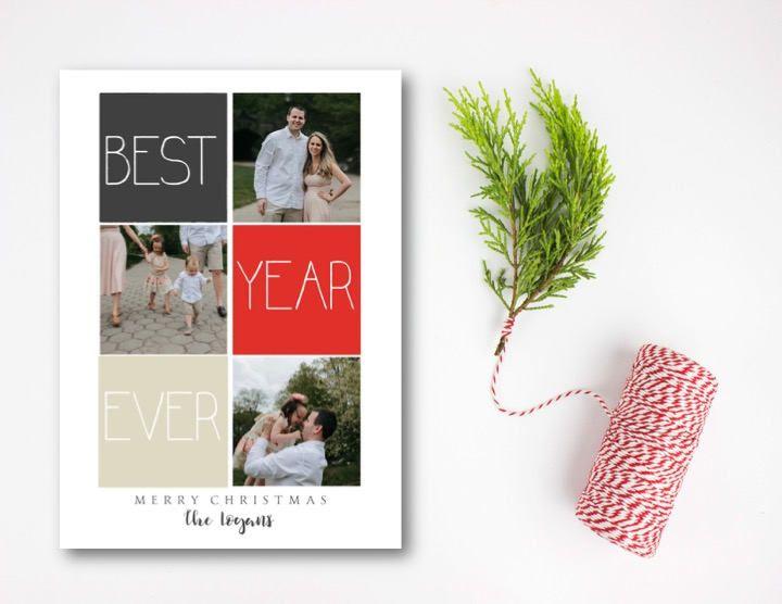 Best year ever photo card christmas photo card holiday photo card best year ever photo card christmas photo card holiday photo card christmas card solutioingenieria Choice Image