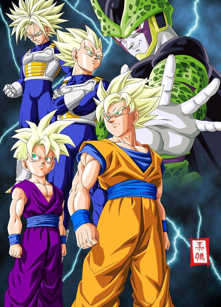 Dragon Ball Kai Cell Saga By Snakou Anime Dragon Ball Dragon