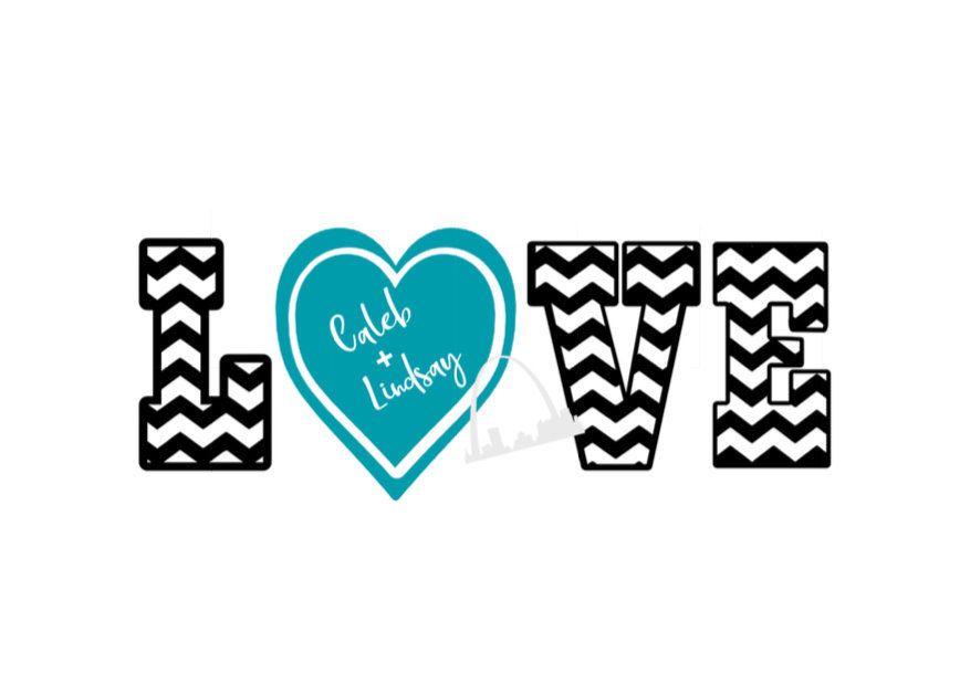 Download Personalized chevron couple love SVG, digital download svg ...