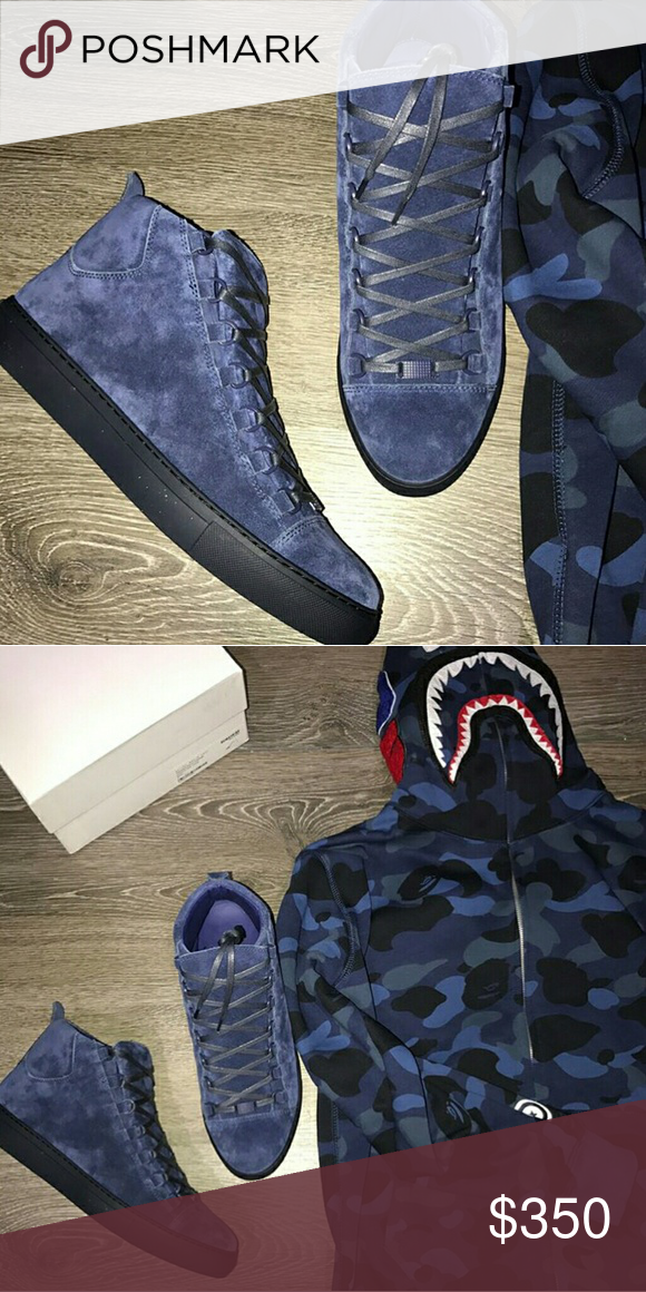b3d4fb68e344 24 HOUR SALE! Balenciaga x Bape  350 for ALL! SERIOUS BUYERS ONLY 100%