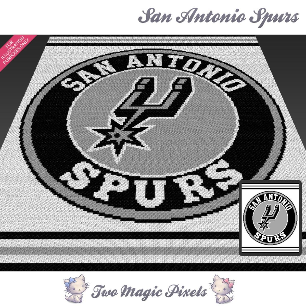 San Antonio Spurs Crochet Graph