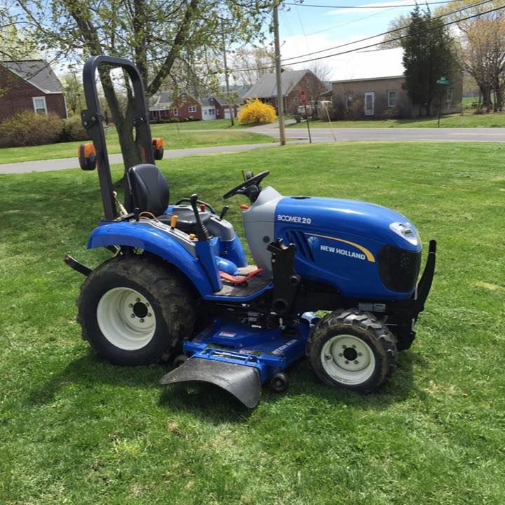 Elegant Nice New Holland Garden Tractor. Idea
