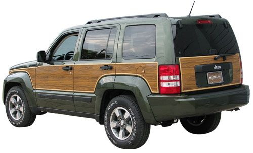 Jeep Liberty Accessory - Auto-Tech Plastics Jeep Liberty Woody Styling Kit - is it bad that I love this?
