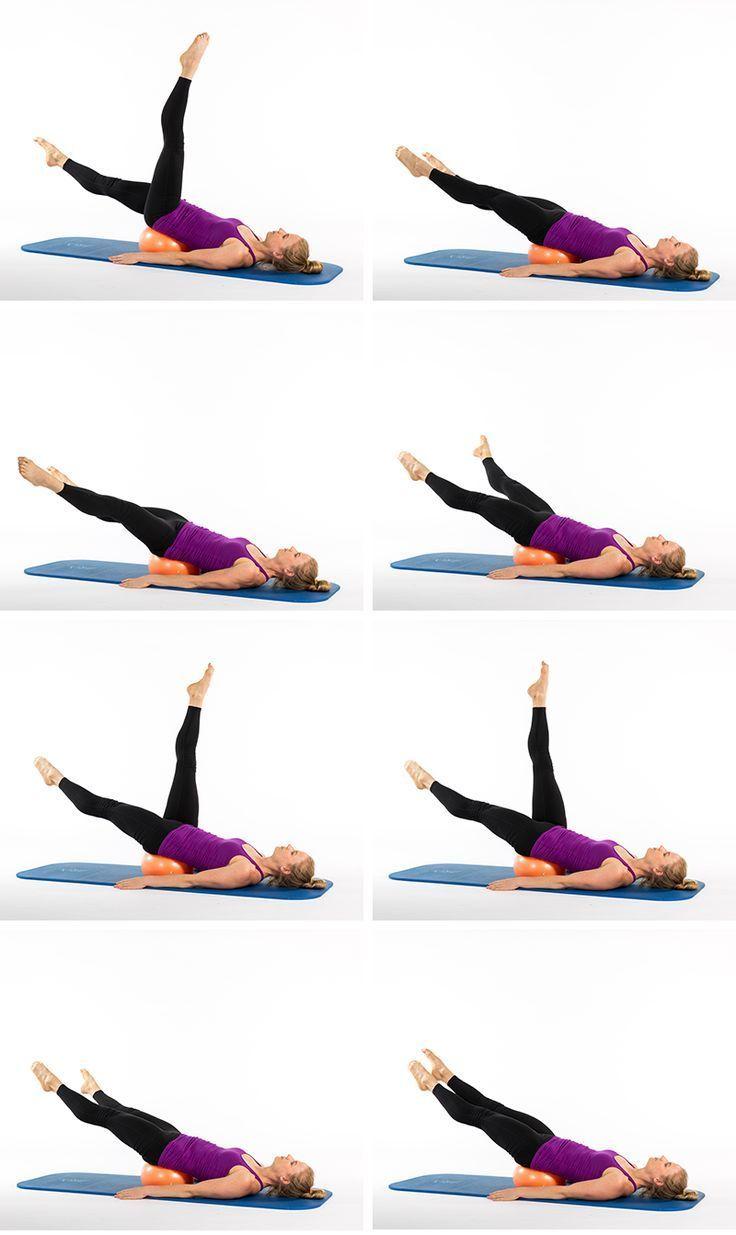 Pilates Ball Core-strengthening Exercises