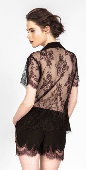 6921357d4e ARI DEIN Lace Boutique Hotel Demi Pajama Set. That lace.
