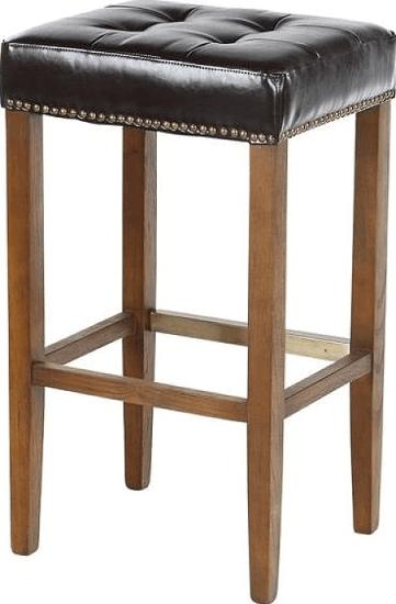 "Bukovice Modern 30"" Bar Stool Upholstery Classic Brown"