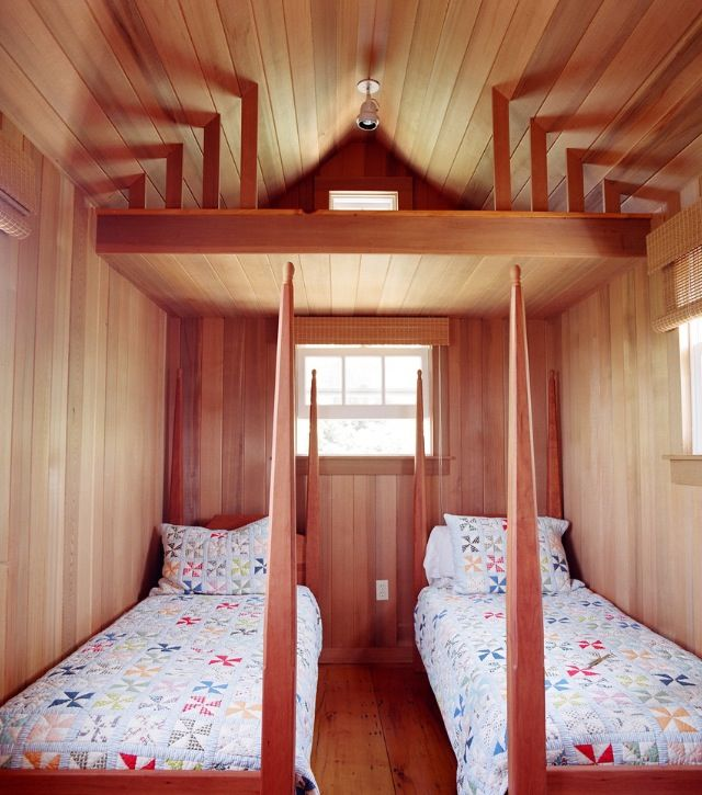 Tiny Bunkhouse Bunk House Bedroom Design Modern Bedroom Design