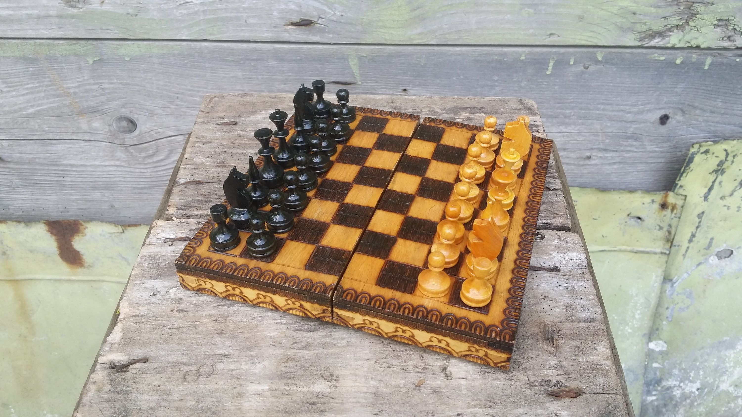 Vintage Chess Set Wooden Chess Small Chess Set Portable Chess Board Game Table Chess Set Tra Fun Board Games Building Games For Kids Funny Games For Kids