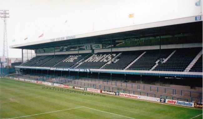 The Baseball Ground Derby County In The 1980s Derby County Stadium Pics Stadium
