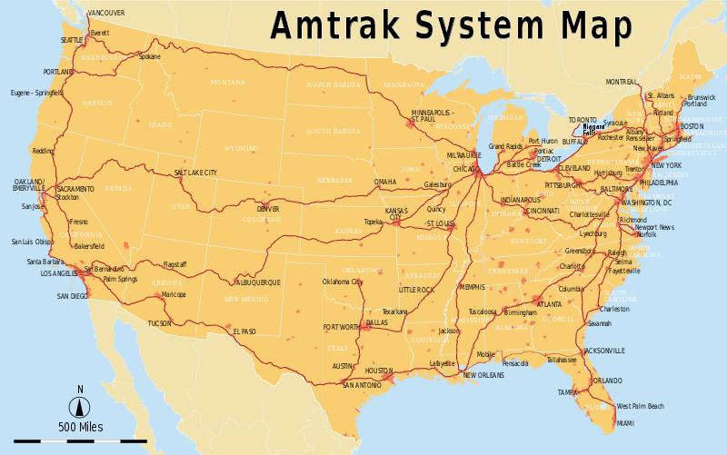 FileAmtrak System Mapsvg Pinterest Buckets