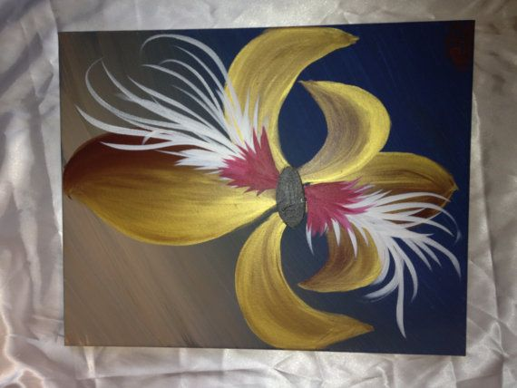 Gold fleur de lis by ccambr6 on Etsy, $30.00