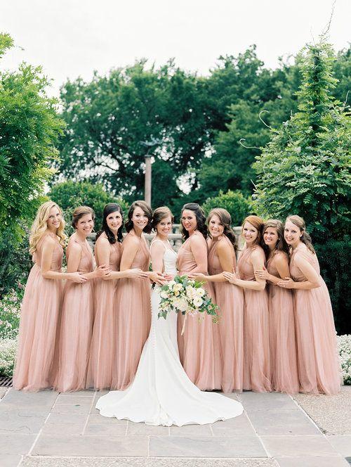 Romantic Dallas Arboretum Military Wedding Lindsey Brunk