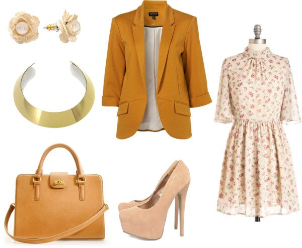 """Bloom in Business"" by adjkinai on Polyvore"