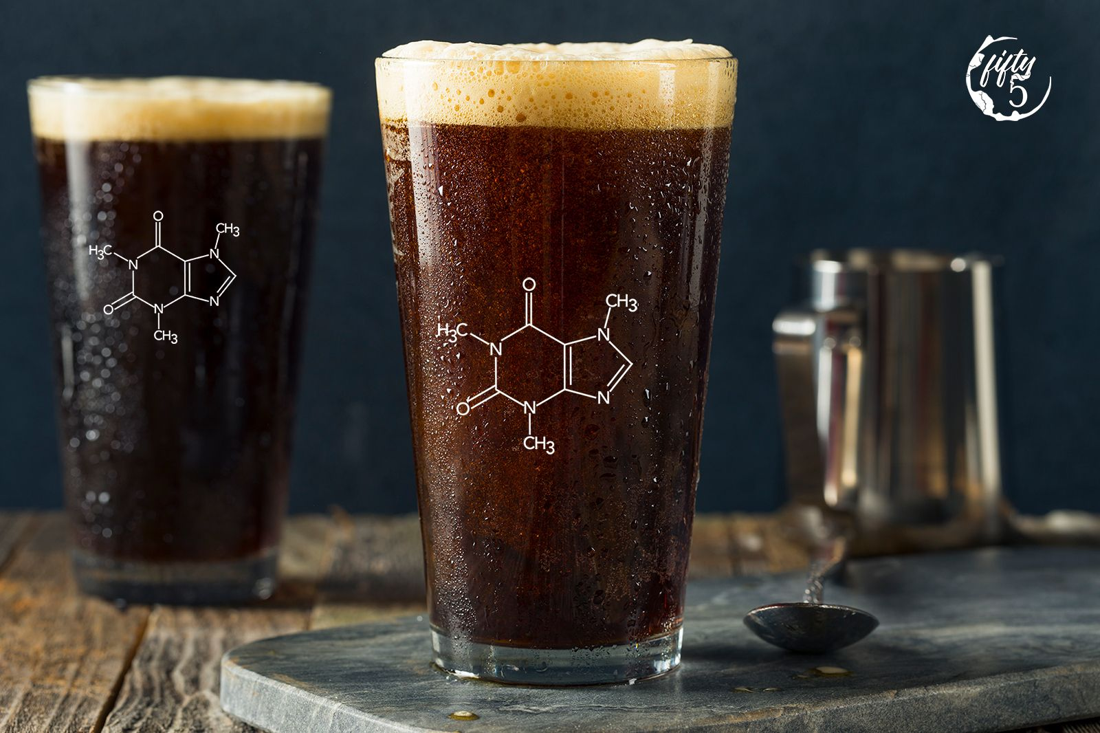 Caffeine concentrations in cold brew coffee with images
