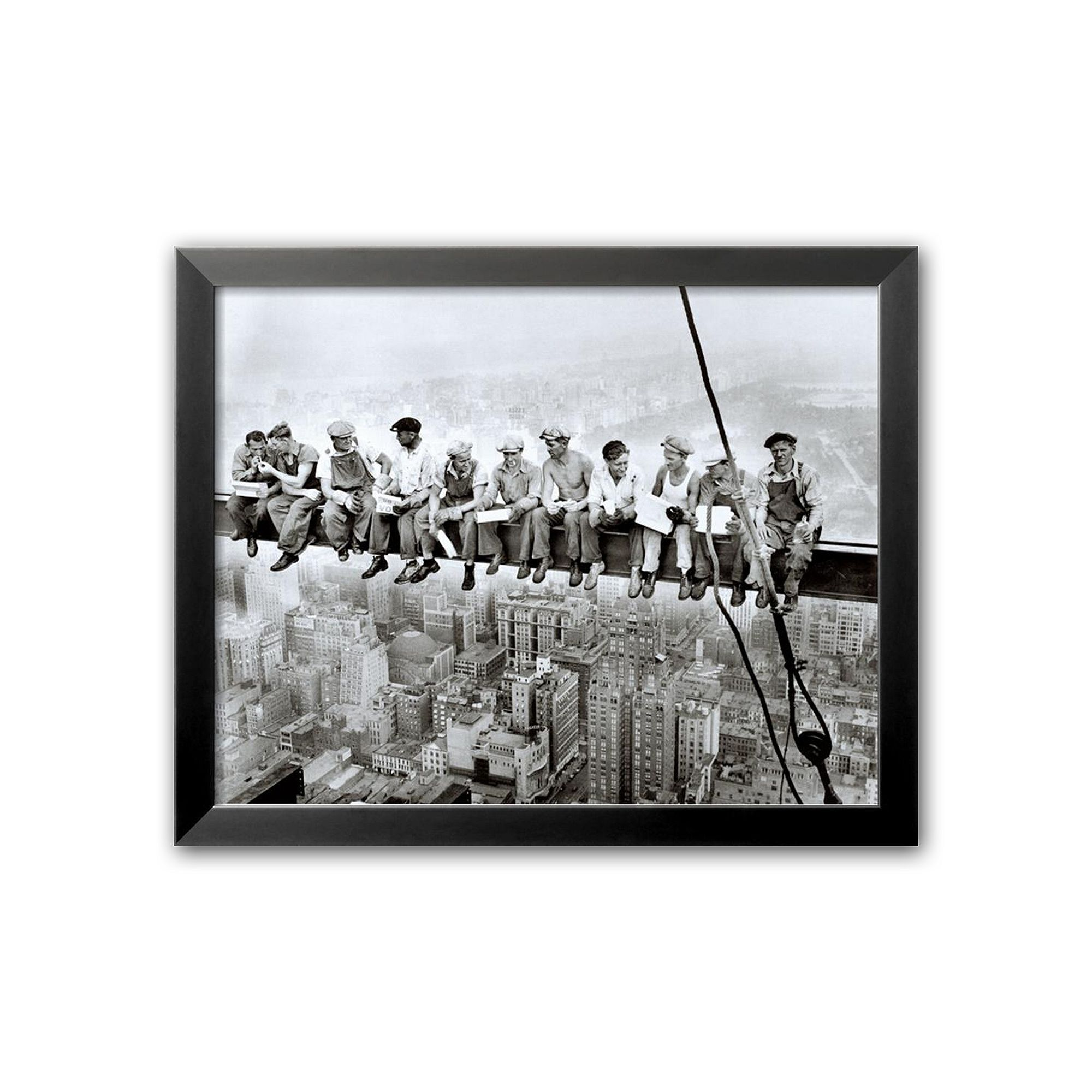 Art.com Lunch Atop a Skyscraper Framed Art Print by Charles C ...