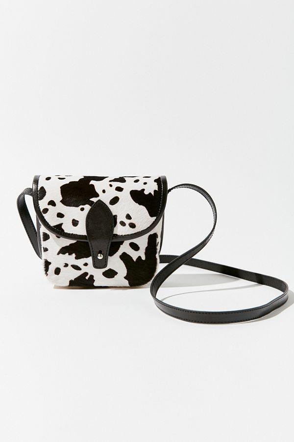 Winette Calf Hair Mini Saddle Bag | Saddle bags, Bags, Calves