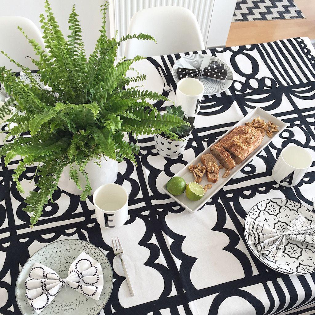 Tischdeko Urban Jungle Bloggers Plant Table Setting T Pinterest