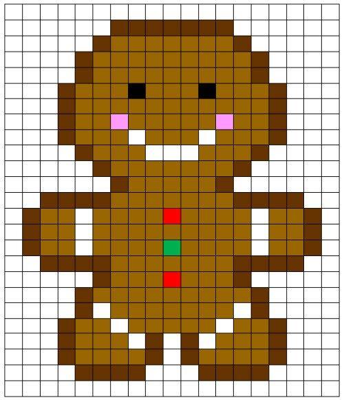 Coding Unplugged E Pixel Art La Scheda Del Pan Di Zenzero