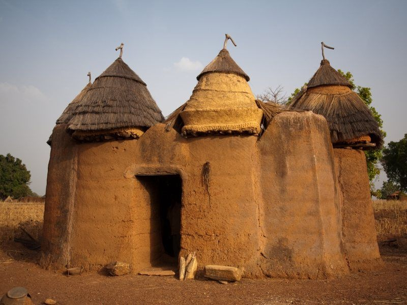 Artagence Architecture Africaine Ethnik  Benin / Togo - Bétiabé / Bétammaribé / Bésorbé  #artagence