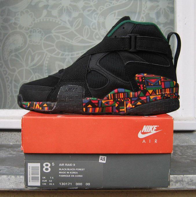 new arrival bf68a 1b3b8 Nike Air Raid II 1993