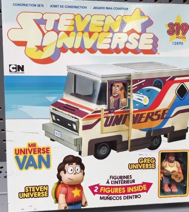 Steven Universe Greg  Mr Universe Van McFarlane 319 pc Builing Set