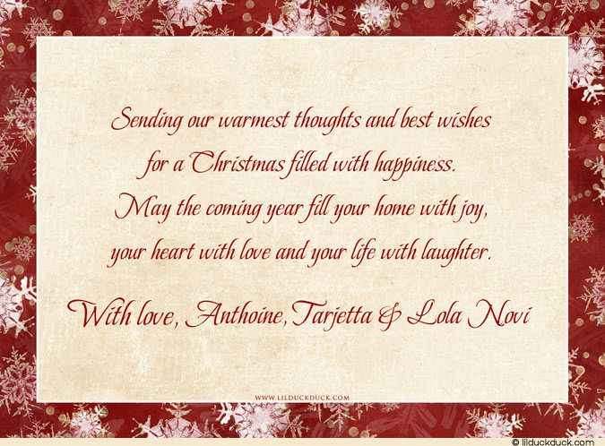 Delicieux Christmas Card Verses Religious | Cardstock Inside Or Back With Optional  Verse