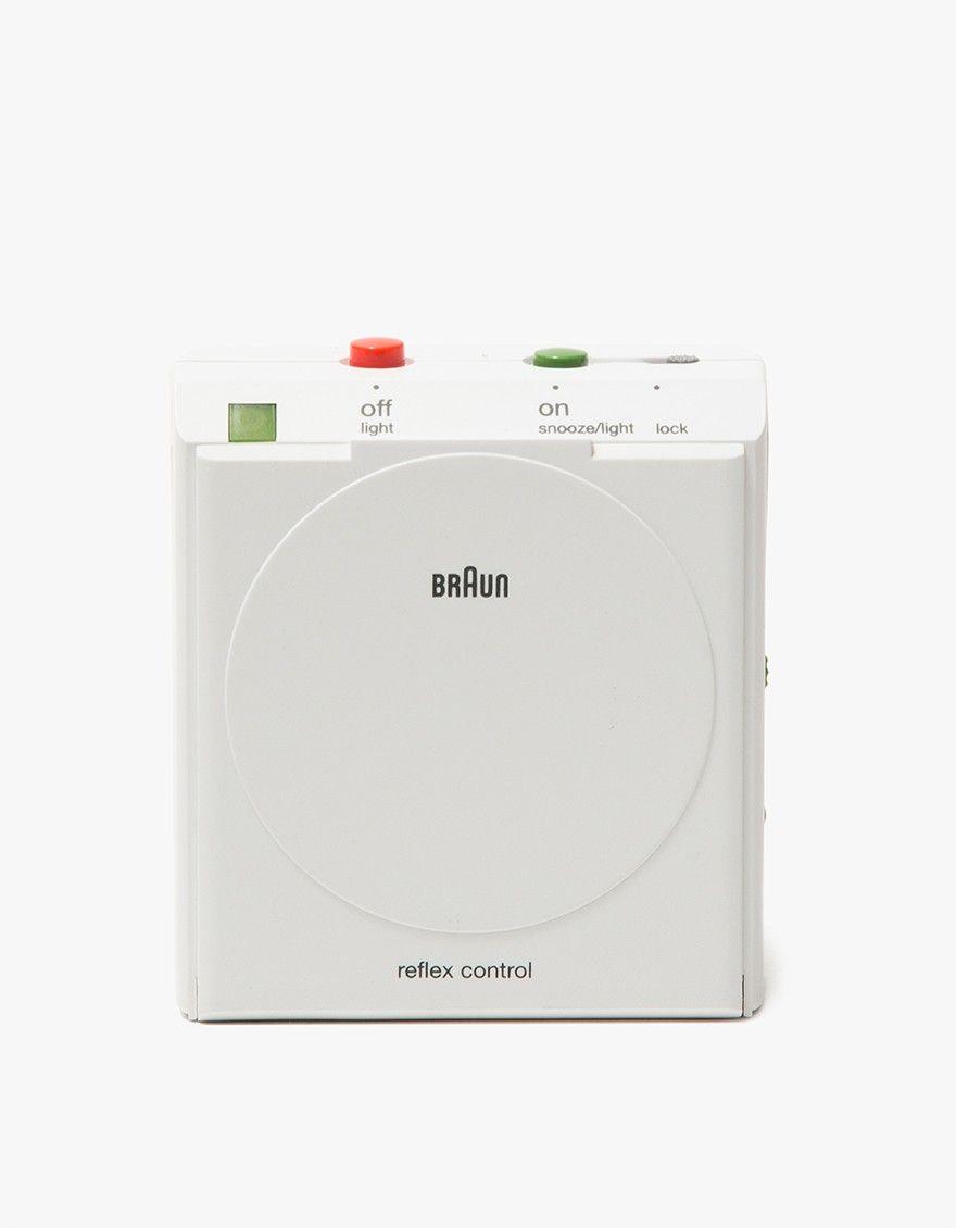 Braun Bnc005 Travel Alarm Clock In White Travel Alarm Clock Interior Display Alarm Clock