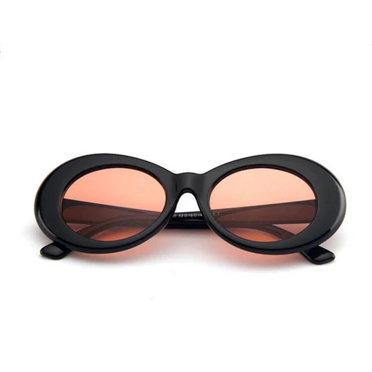 Zuczug Women Oval Sunglasses Fashion Nirvana Kurt Cobain Sunglasses Me Moflily Oval Sunglasses Sunglasses Branding Sunglasses