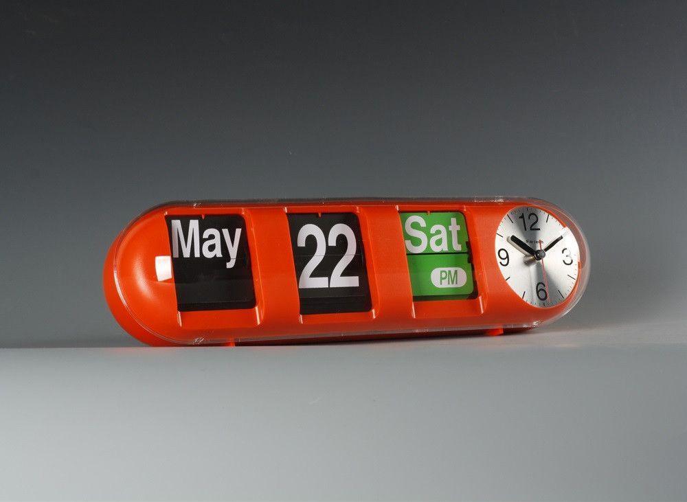 FARTECH Auto Calendar Flip Clock AD 610 | Clock, Flip clock
