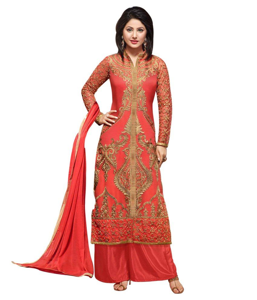 Li Te Ra Orange Faux Georgette Semi Stitched Dress MaterialLi Te Ra Orange Faux Georgette Semi Stitched Dress Material - http://www.zazva.com/shop/women/clothing-and-accessories/women-clothing/women-ethnic-wear/women-salwar-suits/li-te-ra-orange-faux-georgette-semi-stitched-dress-materialli-te-ra-orange-faux-georgette-semi-stitched-dress-material/ Colour : Orange & Beige fabric : Faux Georgette Disclaimer : Wash care only  #AnarkaliSalwar, #SalwarSuits