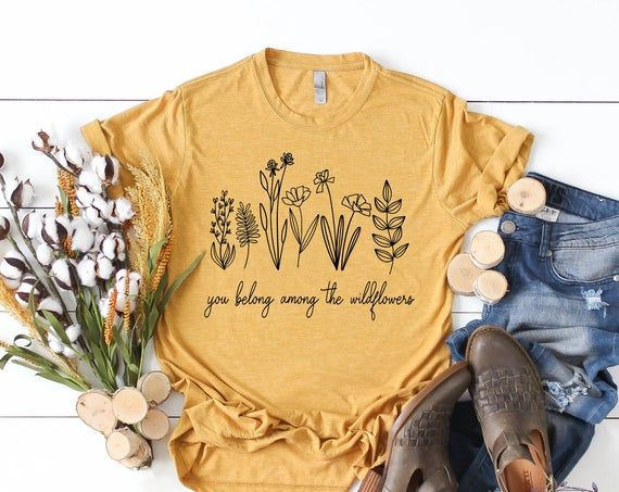 You Belong Among The Wildflowers, Wildflower SVG,