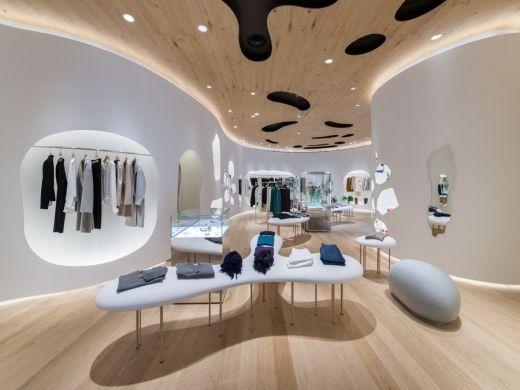 Nemika Concept Store By Kohei Nawa Retail Interior Design Store Interiors Retail Design