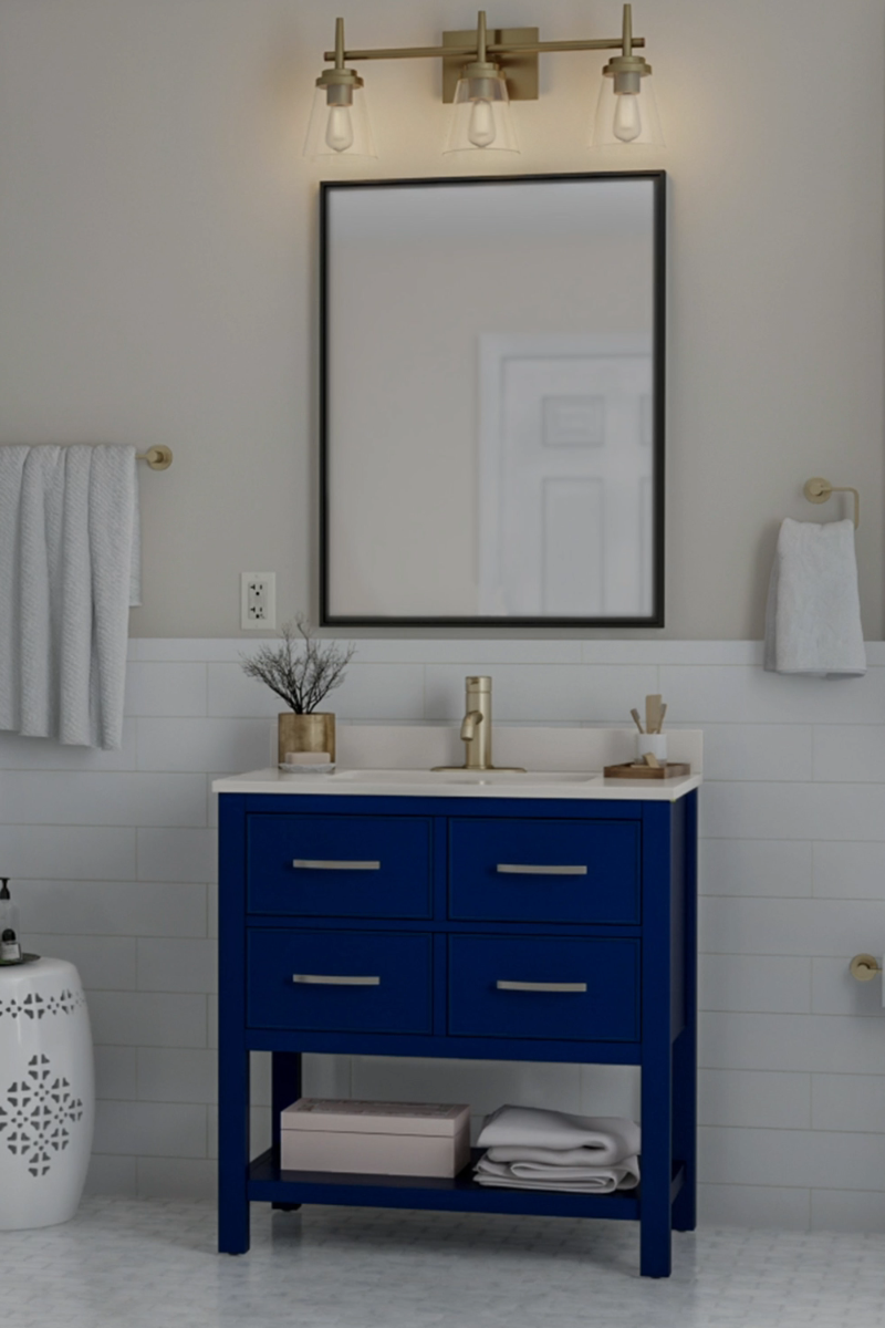 Photo of Loving your bathroom is as easy as upgrading a few key elements. Whether it's …