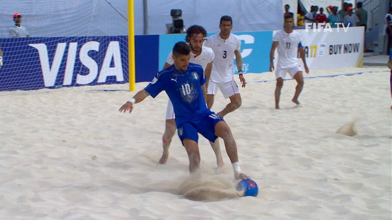 Popular Right Now  United Kingdom l Match 31: Italy v Iran  FIFA Beach Soccer World Cup 2017