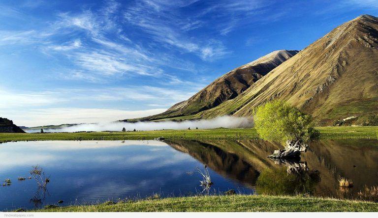 Nature Desktop Wallpaper For Mac New Zealand Landscape Scenery Landscape Wallpaper