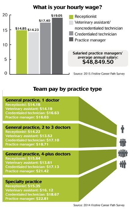 The Veterinary Team Pay Report Veterinary Veterinary Receptionist Vet Medicine