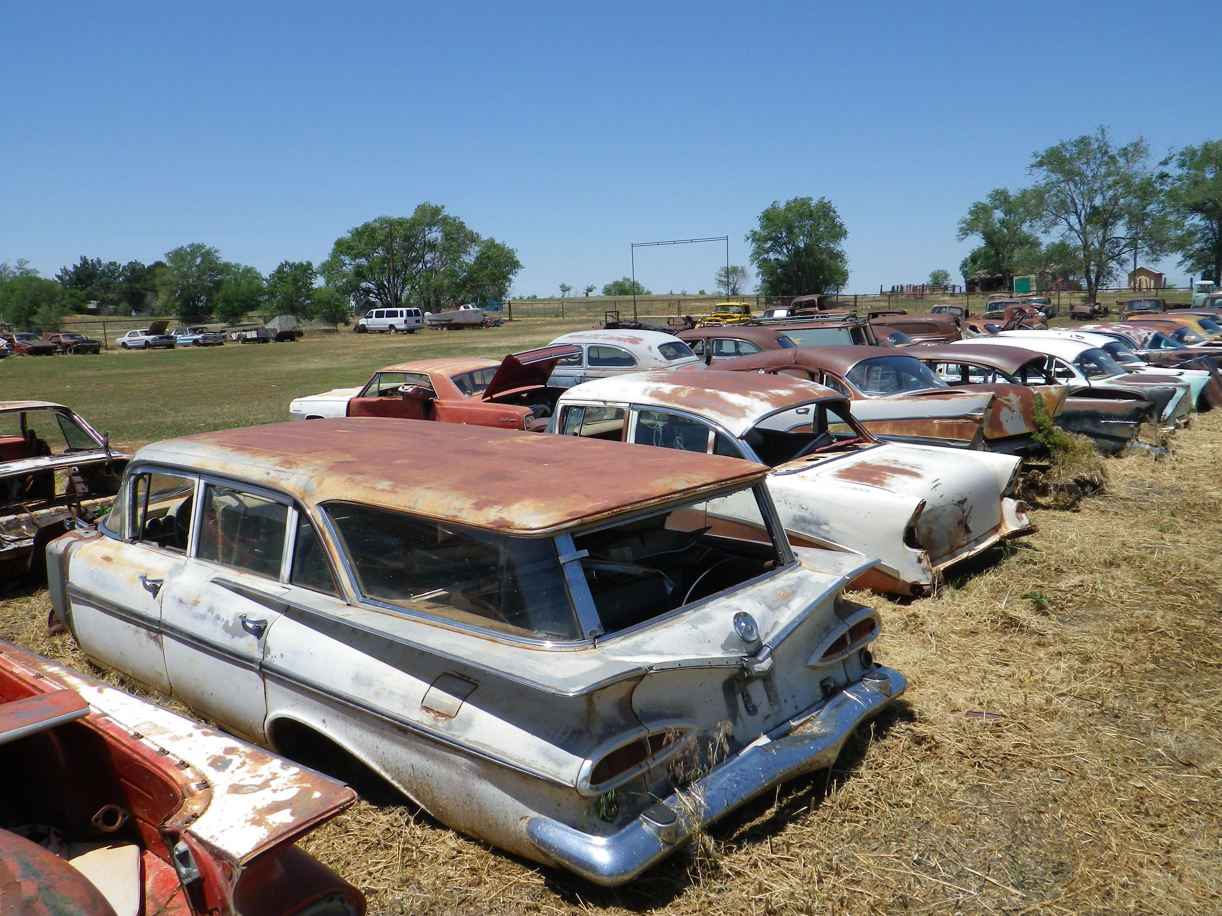 Chevrolet station wagon 1959 + Chevrolet 1955 (route 66 2013) | Cars ...