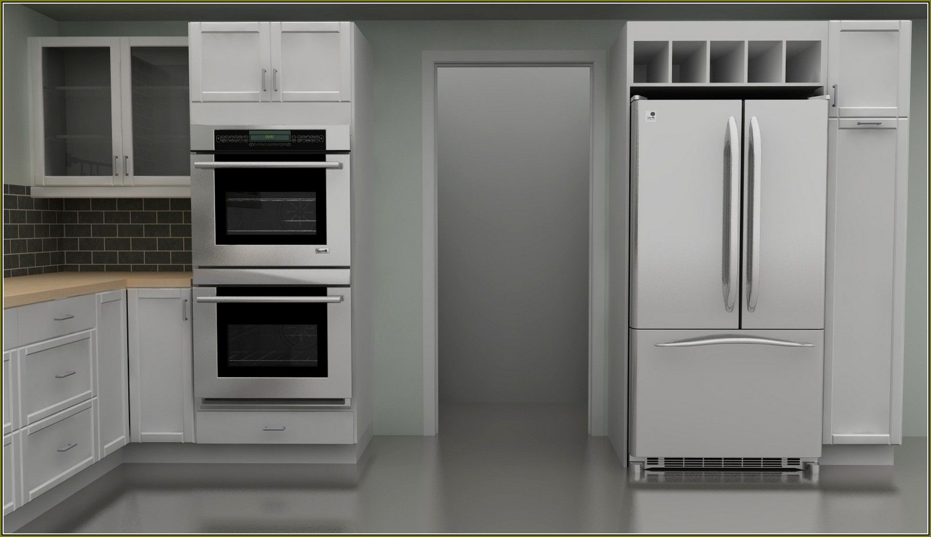 Your Home Improvements Refference Double Wall Oven Cabinet Ikea Kitchen  Cabinets Cliff