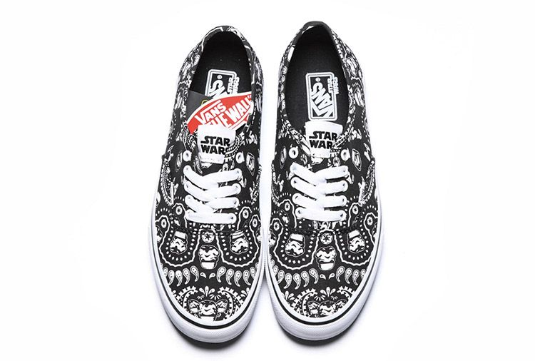 14e16a99dca Vans Star Wars Imperial Stormtrooper Authentic Skateboard  Vans ...